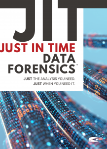 JIT Data Forensics