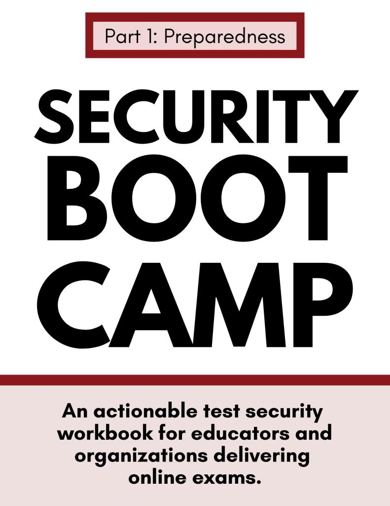 Security Boot Camp Part 1: Preparedness