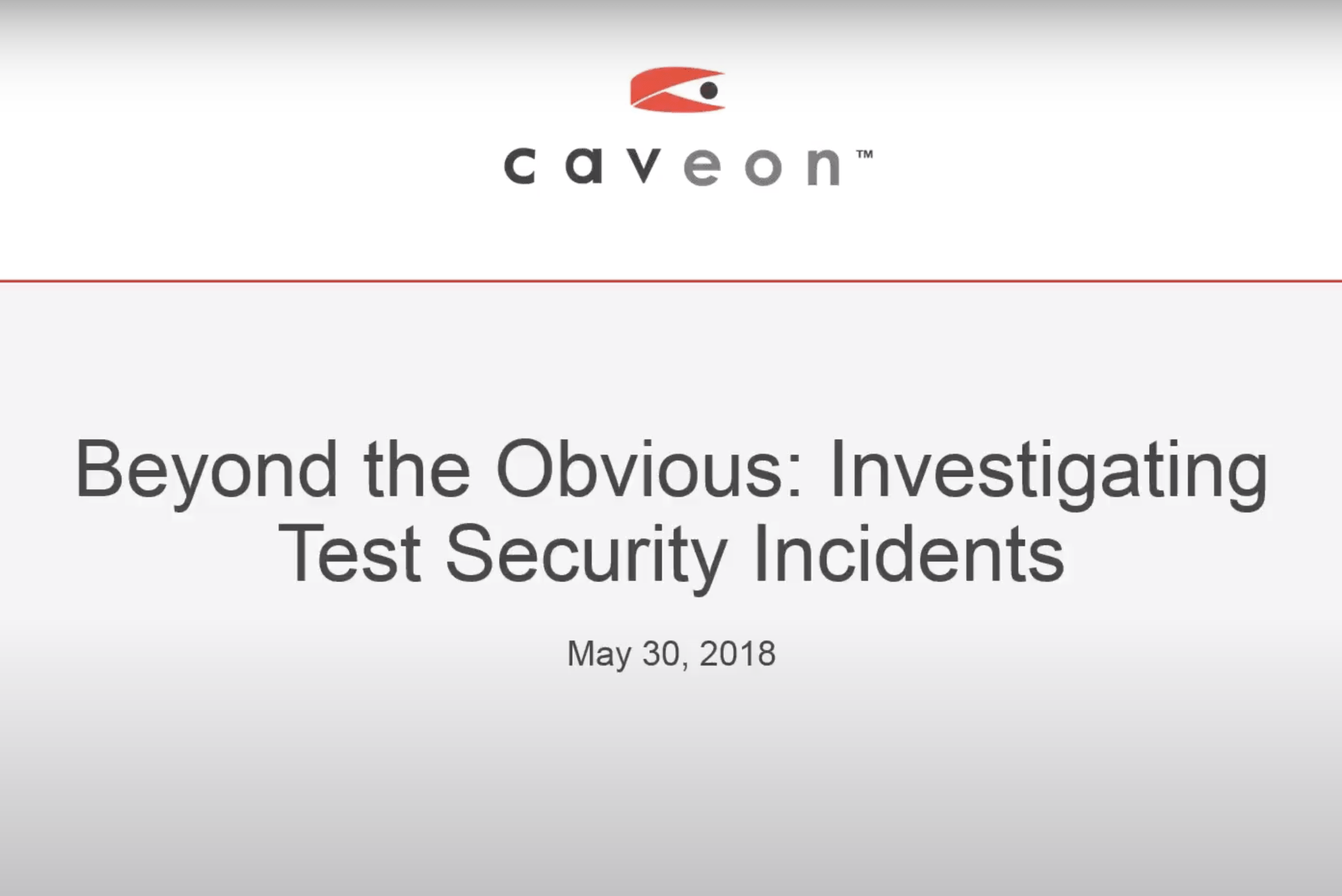 Beyond the Obvious: Investigating Test Security Incidents