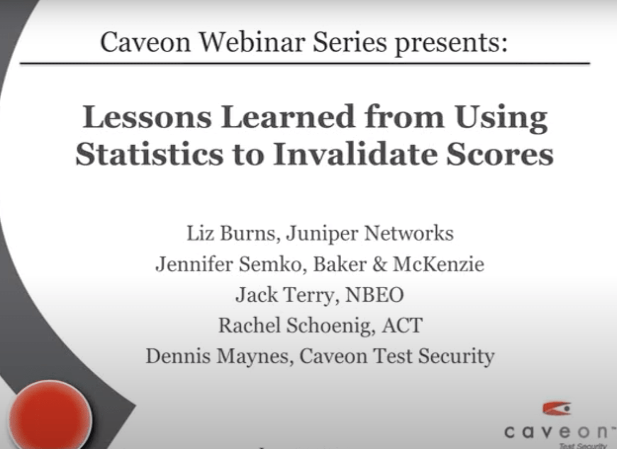 Lessons Learned from Using Statistics to Invalidate Scores