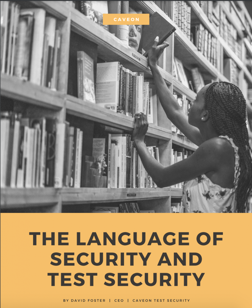 The Language of Security and Test Security White Paper